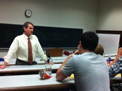 Seton_Hall_professor_visits_campus
