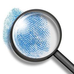 fingerprint-through-magnifying-glass