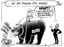 russia Ukraine comic