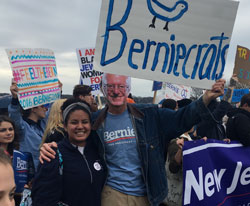 Experience in Bernie March