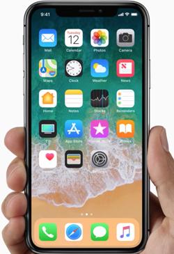 IPhoneX Hello Future