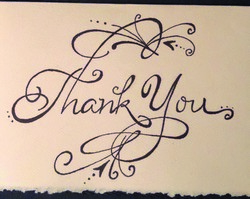 Art of Thank You Cards